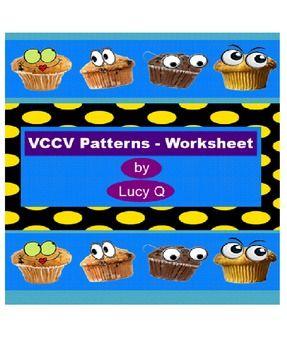 VCCV Patterns - Worksheet | Pinterest | Worksheets and Patterns