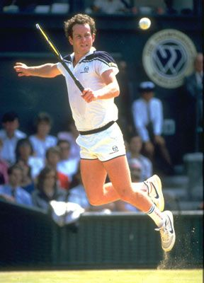 John McEnroe--First tennis genius I ever saw