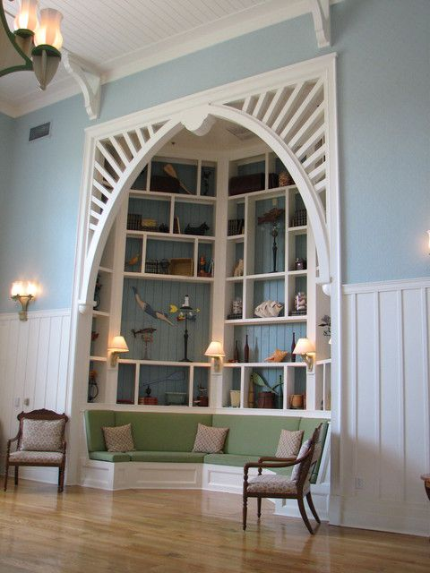 Amazing alcove.: Bay Window, Built In, Book Nooks, Dream House, Builtin, Reading Corner, Reading Nooks, House Idea, Booknook