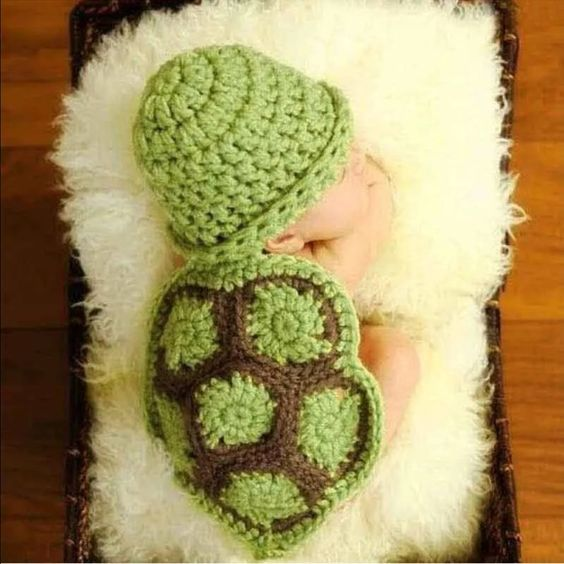 Baby crochet Baby crochet turtle Other