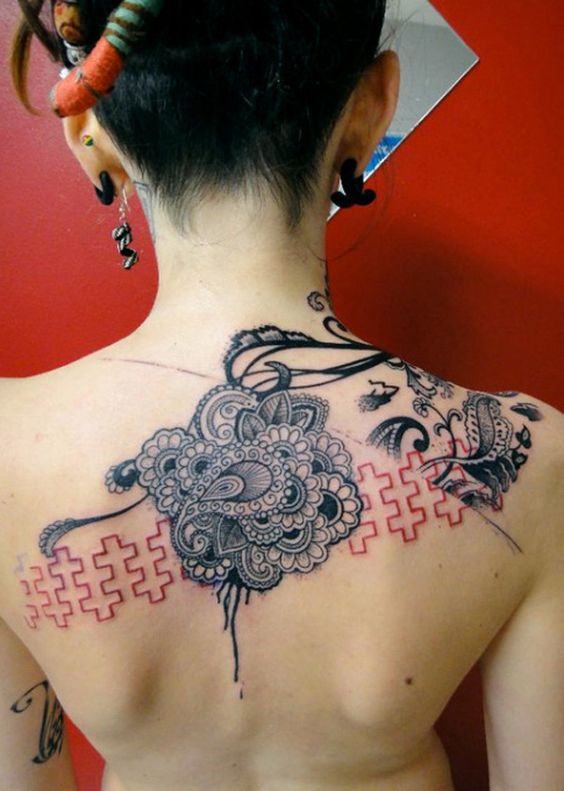 ideas for adding on to that old, boring back piece