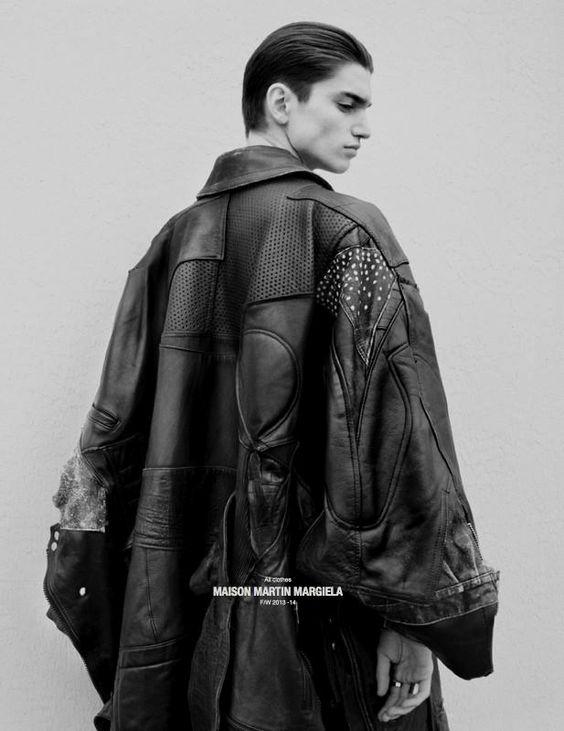 Alexander Ferrario by Salvatore Caputo & Charlotte Ballestros - Dust Magazine June 2013