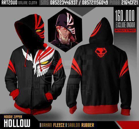 I found 'Bleach Hollow Ichigo hoodie' on Wish, check it out!<<<<< AND I WILL