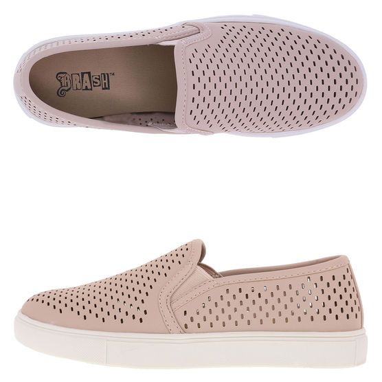 Women's Crave Slip-On, Blush Perforated