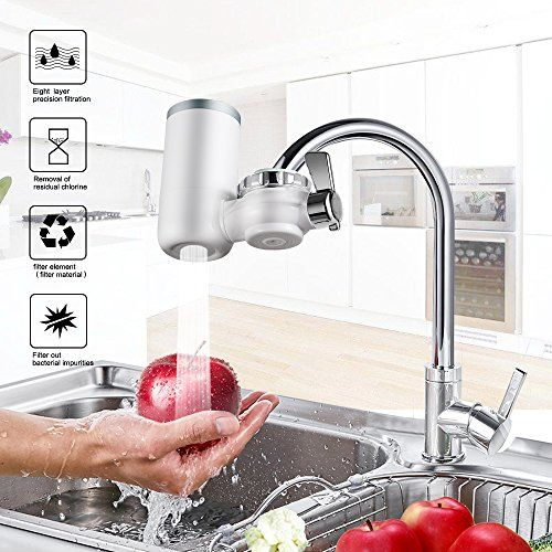 Faucet Water Filter 8 Stage Water Filtration Faucet Mount 7