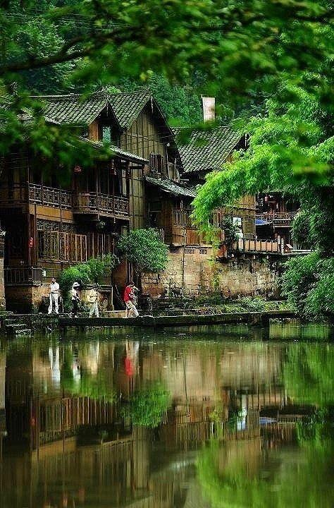 Shang-Li, Sichuan, China: