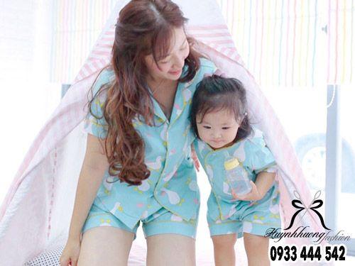 Địa chỉ may pijama cho mẹ và bé tphcm | Huỳnh Hương Shop