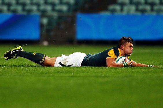 Skipper Handre Pollard Scoring Rugby Players Rugby News Springbok
