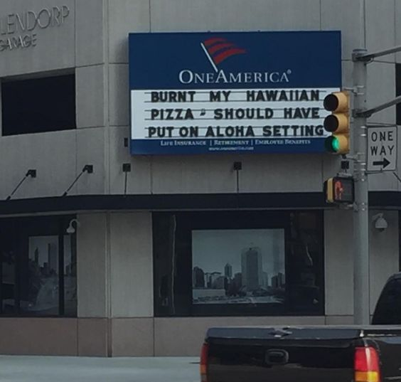 And marquees.   23 Dad Jokes On Instagram That Are So Bad They're Actually Good