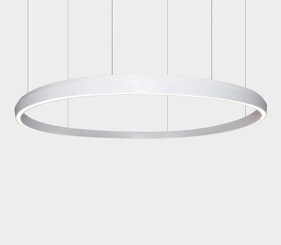 Leuchtenring KF175 D2,5m, Design: Pfarré Lighting Design, München, und Ippolito Fleitz Group, Stuttgart - hatec Gesellschaft für Lichttechnik mbH