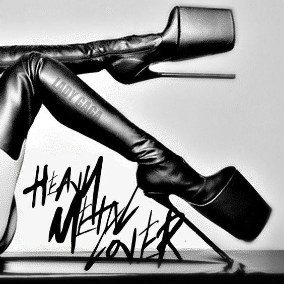 Lady Gaga – Heavy Metal Lover (single cover art)