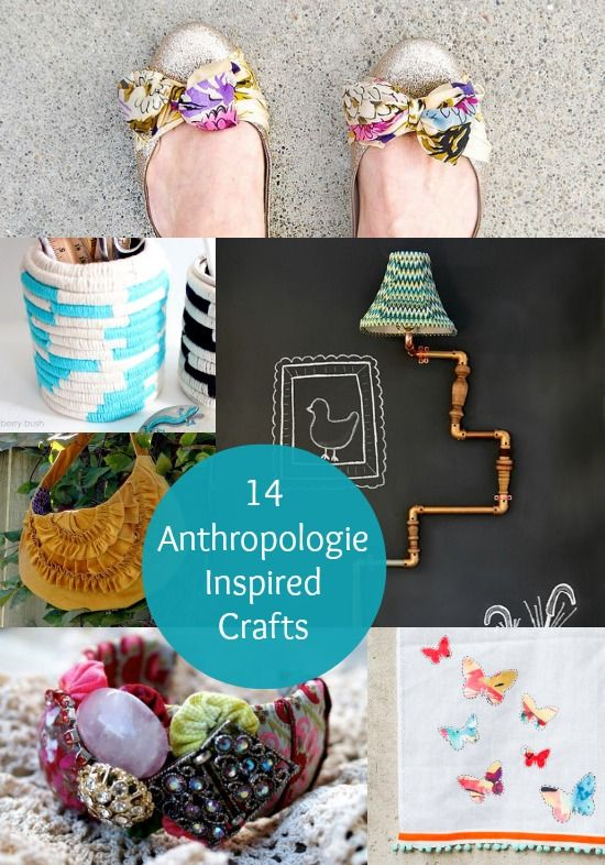14 Awesome Anthropologie Inspired Crafts - diycandy.com