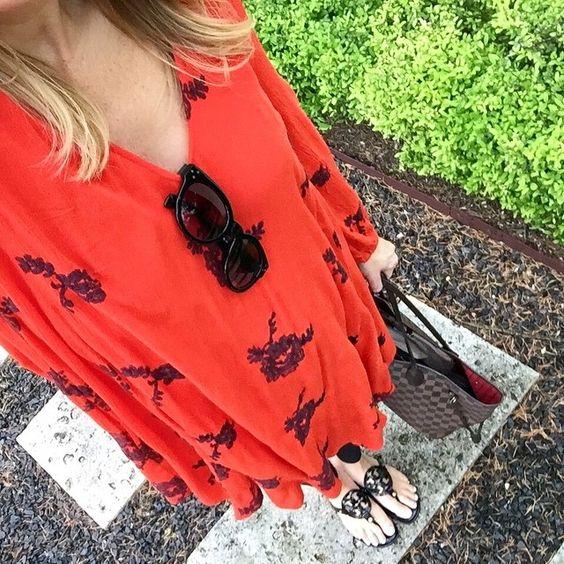 #freepeople #liketoknowit #reddress #summerstyle #summerlove #free #people