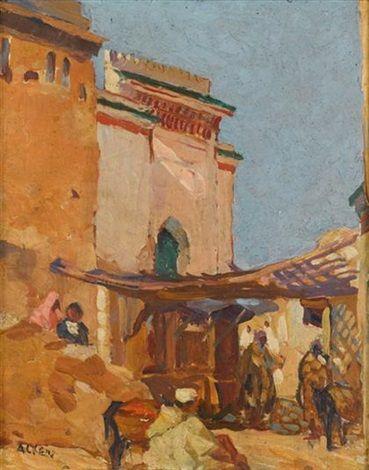 Mosque souk Bab El Ghissa Fés, (Maroc) von Marcelle Ackein