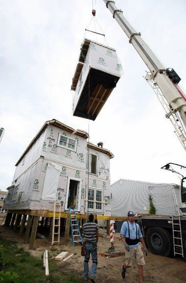 New Jersey Shore Modular Construction Helping To Rebuild