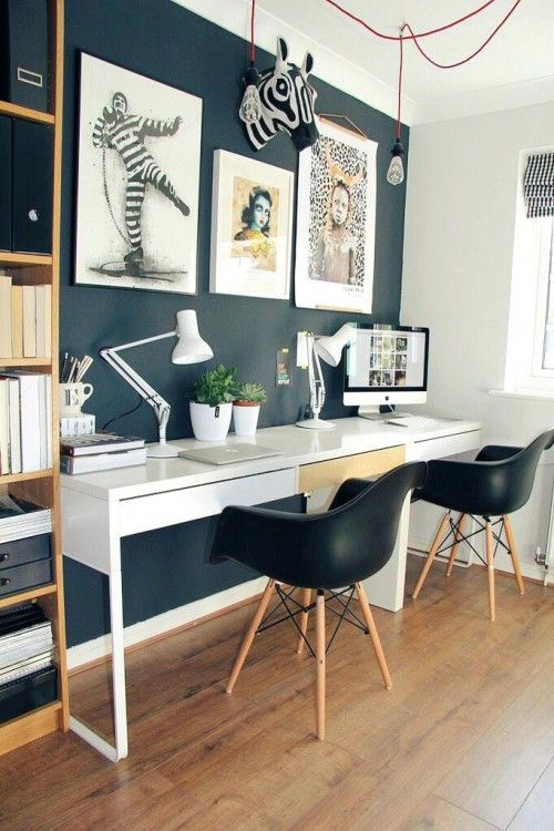 Mid Century Modern Home Office Ideas Home Office Decor Home Trends Ikea Home Office