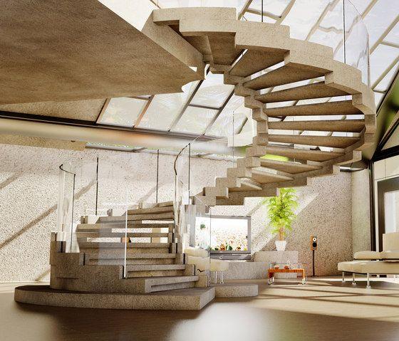 wendeltreppe modernes treppenhaus ideen design architecture pinterest treppe kommerziell. Black Bedroom Furniture Sets. Home Design Ideas