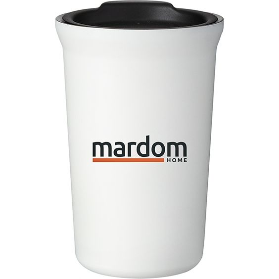White Double Wall Stainless Steel 12oz Hudson Tumblers Personalized With Your Custom Imprint Or Logo Gifts G Custom Logo Gifts Company Gifts Business Gifts