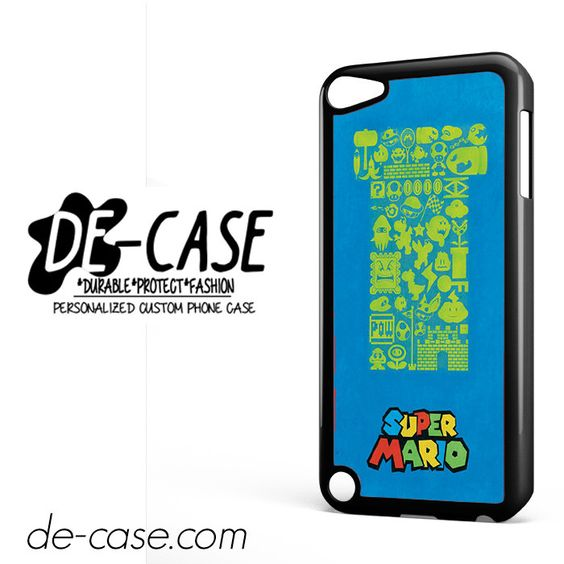 Super Mario DEAL-10259 Apple Phonecase Cover For Ipod Touch 5