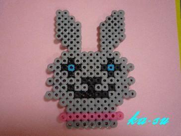 bunny hama, perlar
