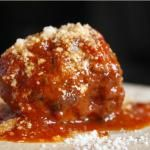 Pork and Ricotta Meatballs in a Lemon-Wine Sauce | Ricotta, Pork and ...