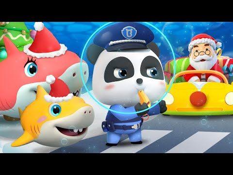 Traffic On Christmas Eve 2020 2) Baby Panda Traffic Police   Traffic Jam on Christmas Eve