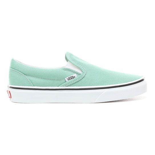 Chaussures Slip-On | Vert | Vans | Chaussures slip on ...