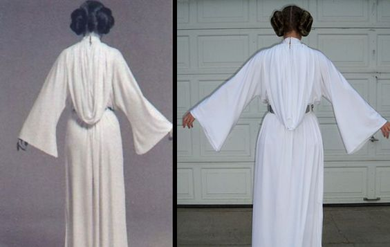Princess Leia Costume Pattern | Princess Leia dress pattern