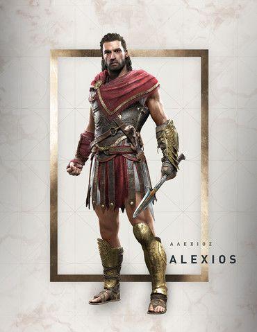 Assassin S Creed Odyssey Alexios No Helmet Vojna Fentezi