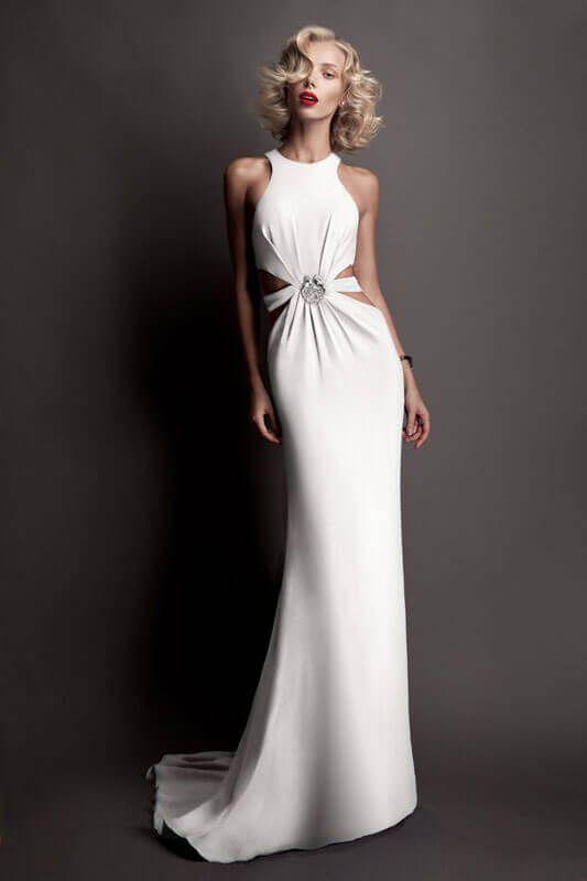 Abiti Da Sera Cavalli.Abiti Da Sposa Roberto Cavalli 2018 Wedding Dresses Bridal Wear
