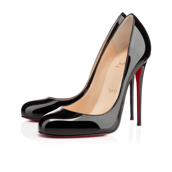 christian louboutin fifi round-toe pumps