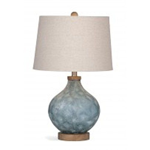Bassett Mirror Company Pawley 24 Inch Blue Glass Table La Https Www Amazon Com Dp B01mdrfwxi Ref Cm Sw R Pi Awdb T1 X Ysv Table Lamp Lamp Glass Table Lamp