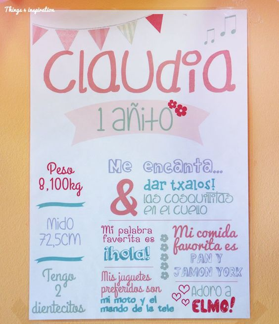 Fiestas on pinterest - Fiesta cumpleanos 1 ano ...