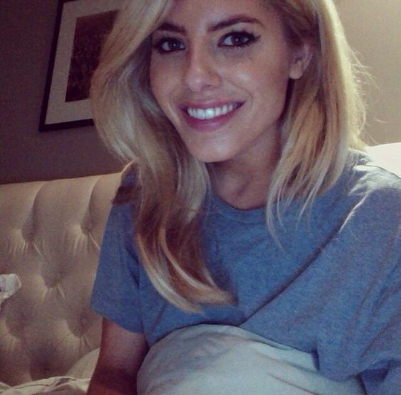 Mollie king beautiful hair and make up