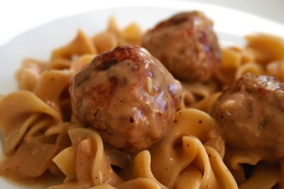 I am going to attempt to make these Turkey Swedish Meatballs today.