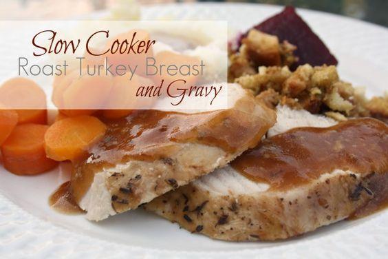 Turkey breast, Slow cooker roast and Turkey on Pinterest