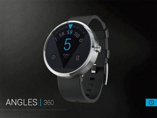 Omate X Smartwatch vorgestellt Moto 360 Killer mit 7 Tagen Akkulaufzeit und Sapphire Glass fuer $129