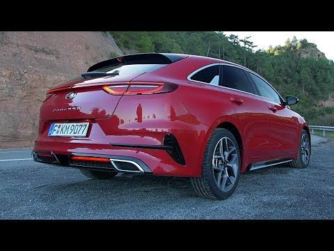 2019 Kia Proceed Gt Line Stunning Design With The Space And Versatility Youtube