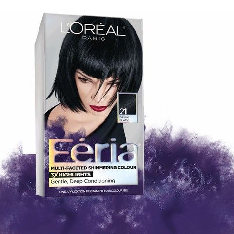 L Oreal Paris Feria High Intensity Shimmering Color Power Red