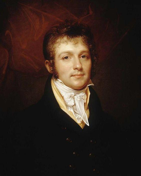 Rembrandt Peale - Portrait of Edward Shippen Burd by Rembrandt Peale