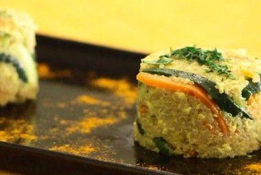 Quinoa con verdure e tofu strapazzato | 100% green kitchen