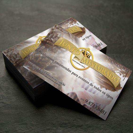 Cartão de Visita da Junto & Misturado...