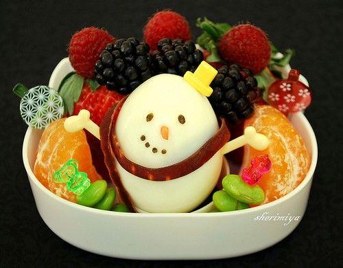 Ideas para preparar bentos en navidad recetas para beb s - Ideas para postres de navidad ...