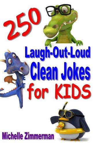 Free Kindle Book For A Limited Time : 250 Laugh-Out-Loud Clean Jokes for Kids - What do sea monsters eat? Fish and ships! This is the ultimate collection of the very best jokes and riddles! Your child will have hours of fun and laughter reading and sharing these jokes, and joke books are a great way to get kids reading!250 Laugh-Out-Loud Clean Jokes for Kids will amuse and entertain kids of all ages!