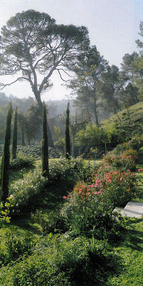 BOSC ARCHITECTES - MICHEL SEMINI paysagiste - SOPHIE BOSC décoration - bastide jardin