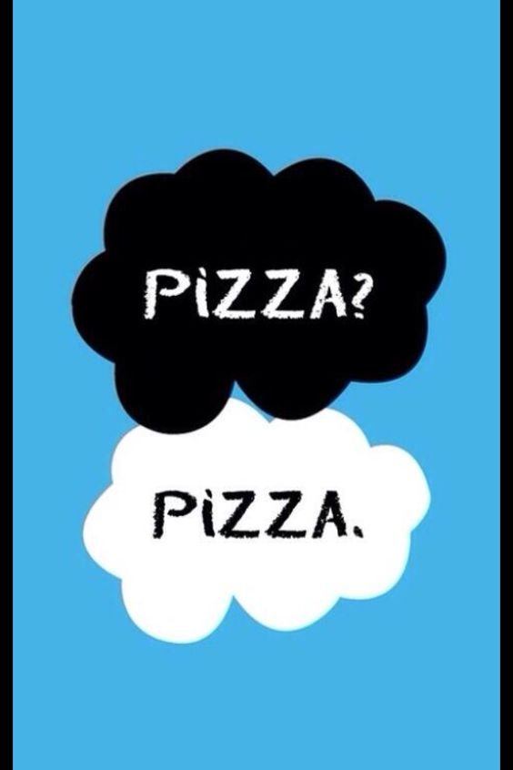 pizza? pizza.  I'm not a big fan of trios so .but this! I can relate with! !!!!!!!!