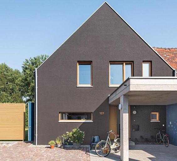 Siedlungshaus In Modernem Stil Schoner Wohnen Haus Haus Haus Und Wohnen