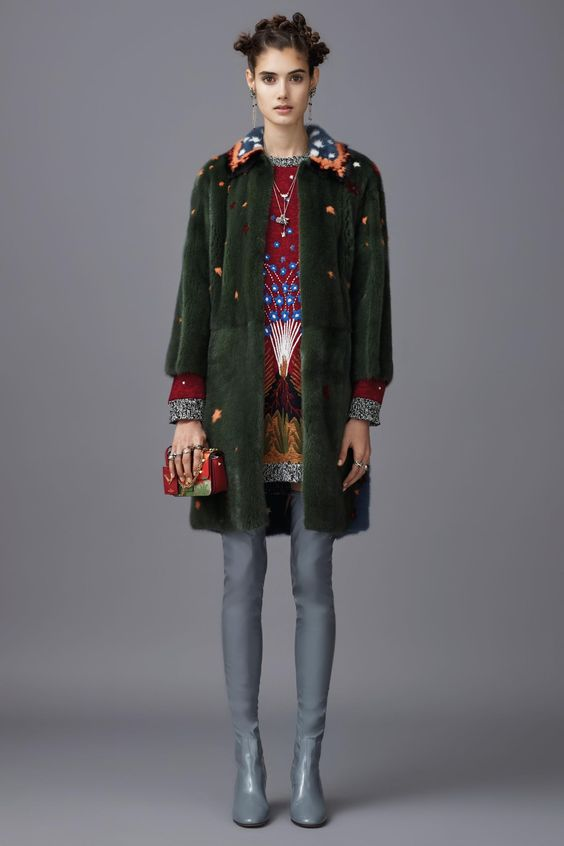 A look from Valentino's pre-fall 2016 collection. Photo: Valentino.