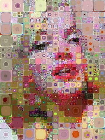 Marilyn Monroe color block art