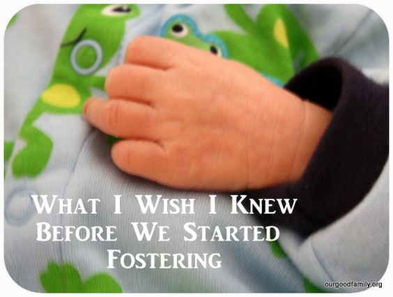 What I Wish We Had Known Before We Started Fostering